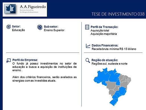 Educação - Tese de Investimento 038