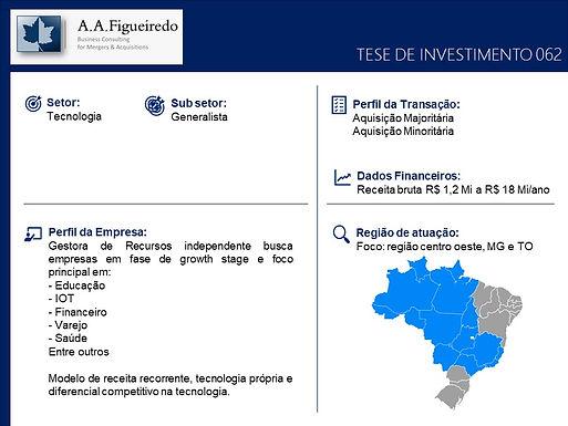 Tecnologia - Tese de Investimento 062