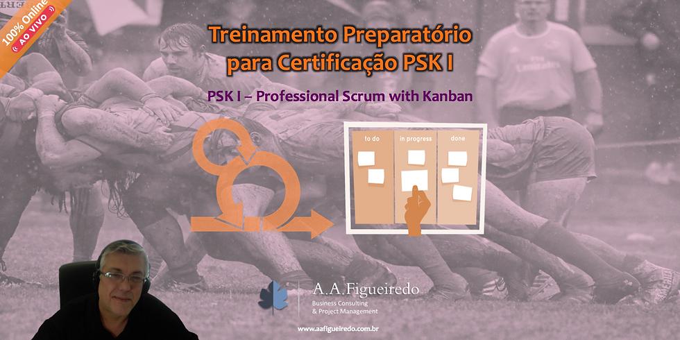 Treinamento Preparatório PSK I - Professional Scrum with Kanban