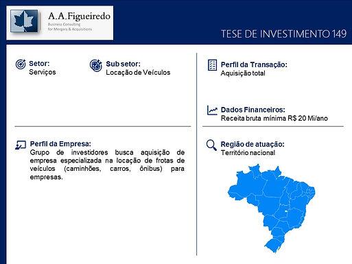 Serviços - Tese de Investimento 149