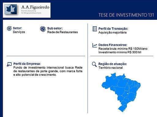 Serviços - Tese de Investimento 131