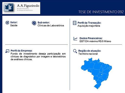 Saúde - Tese de Investimento 092