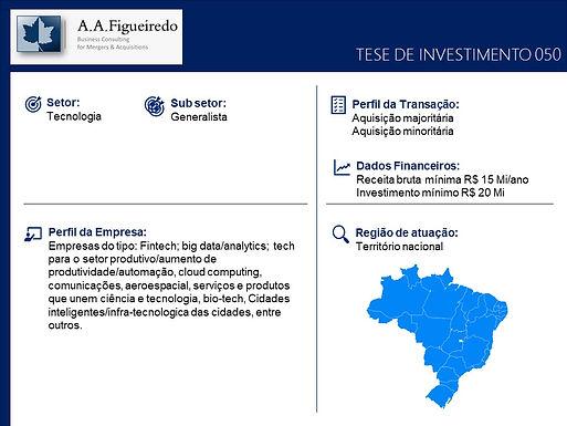 Tecnologia - Tese de Investimento 050