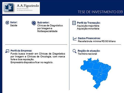 Saúde - Tese de Investimento 039