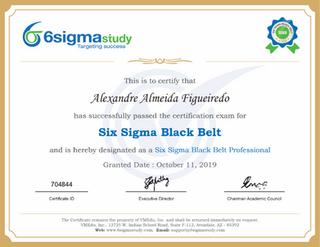 SSBB - Six Sigma Black Belt