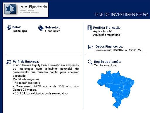 Tecnologia - Tese de Investimento 094