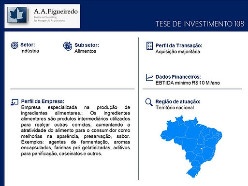 Indústria - Tese de Investimento 108
