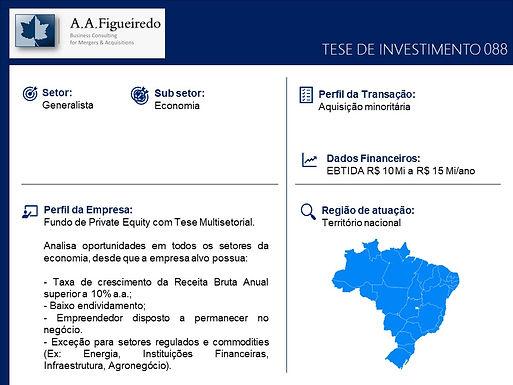 Generalista - Tese de Investimento 088