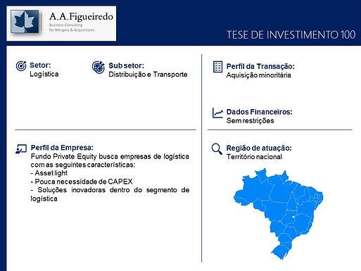 Logística - Tese de Investimento 100