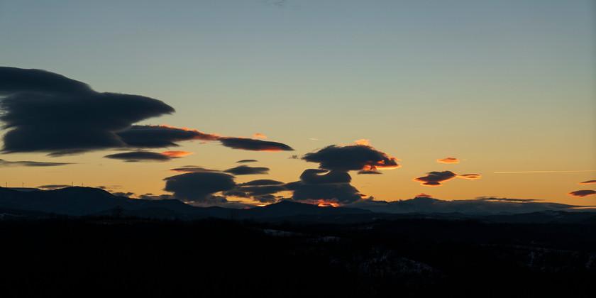 Sunset 29.01.18