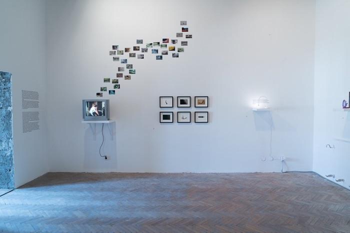 """installation view, City Museum Belgrade (part of """"The Pleasures of Love"""" October Salon, Belgrade 2016)"""