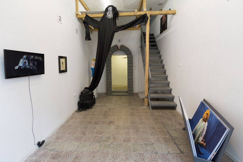 installation view, SARIEV Project Space (BACKGROUND: Young Artists, Plovdiv 2014
