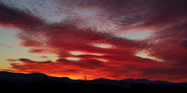 Sunset 31.12.2019