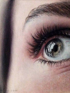 Small study of an eye