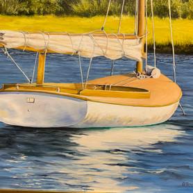 Catboat at Tripp's