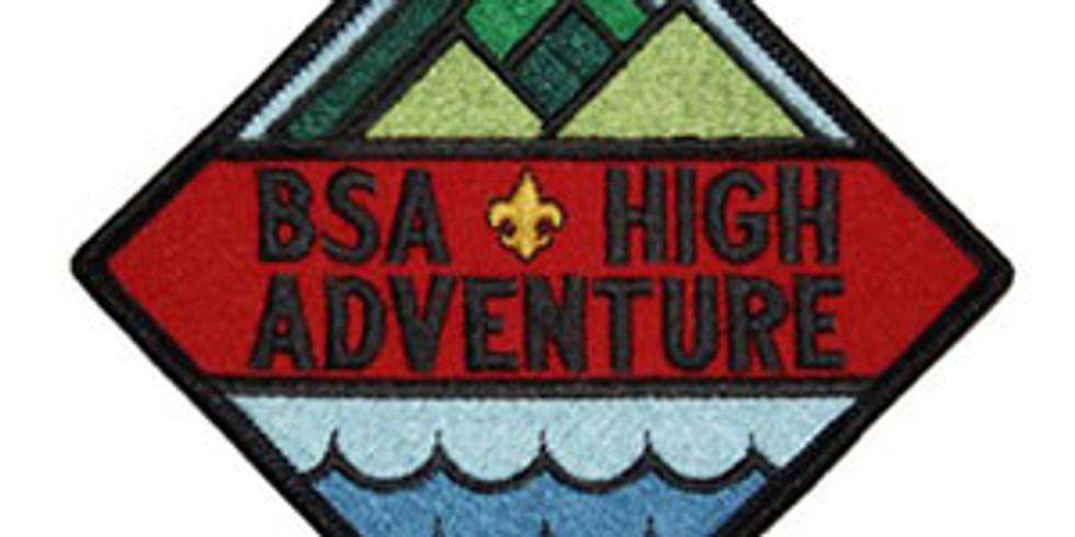 2021 High Adventure Interest