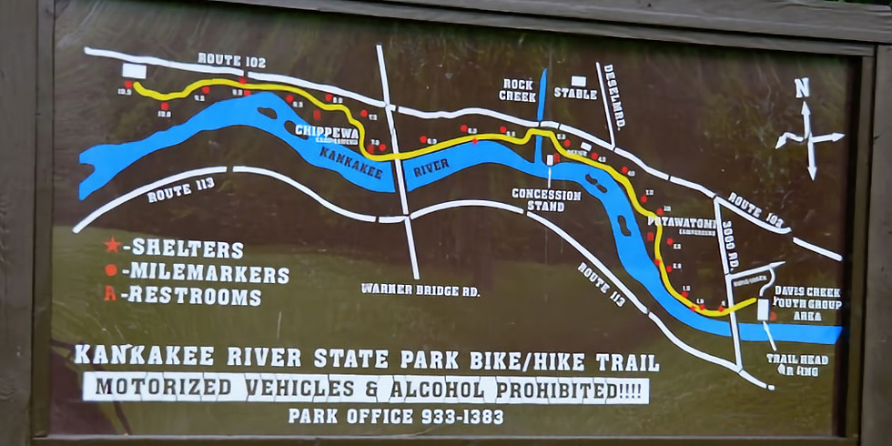 CAMPOUT: Kankakee River State Park