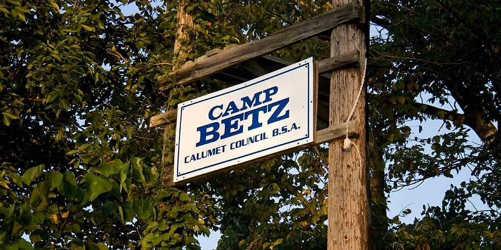 CAMPOUT: Cabin Overnight @ Camp Betz