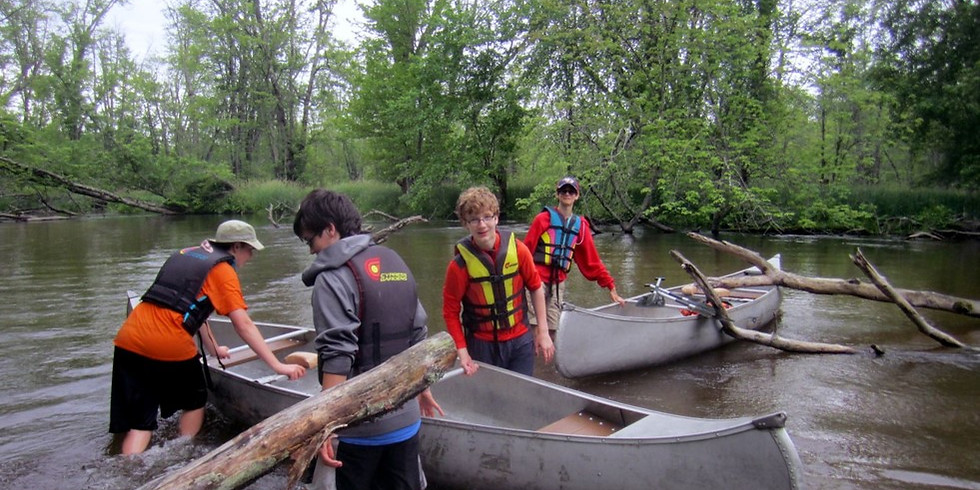 Canoeing Campout