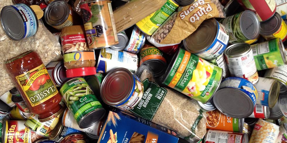SERVICE PROJECT: Food Drive Bag Drop Off