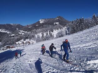 Carte cadeau : Journée initiation ski de rando