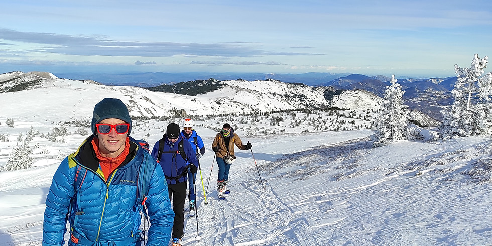 Demi-journée initiation ski de rando