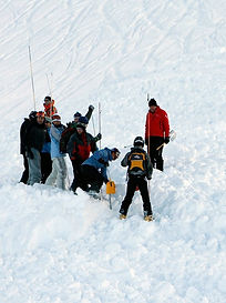 - Être capable de gérer seul une situation de recherche et de dégagement d'une victime d'avalanche  - Être capable de gérer une situation simple de multi-ensevelissement en avalanche.  - Être capable d'organiser un sauvetage de victimes d'avalanche avec son groupe.