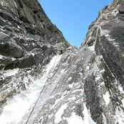 Mont Blanc du Tacul - Goulotte Gabarrou