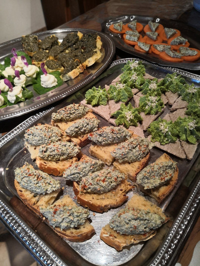 tartines plantes sauvages comestibles