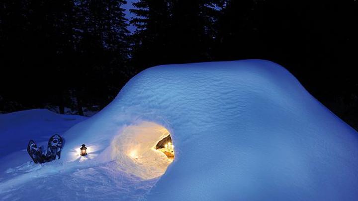 Carte cadeau : Expérience trappeur et nuit en igloo