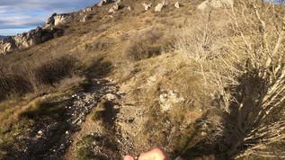 Trail à Noël en Ariège