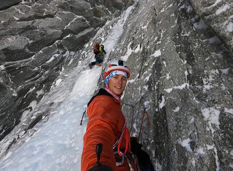 Goulotte Gabarrou-Albinoni - Mont Blanc du Tacul