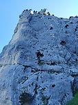 """Un bijou d'escalade en Chartreuse, dans du rocher de qualité. Les longueurs sont typées """"trad"""", avec des dülfer, râteaux de chèvres, renfougnes et autres délices de l'escalade en fissure. Difficile et athlétique !"""