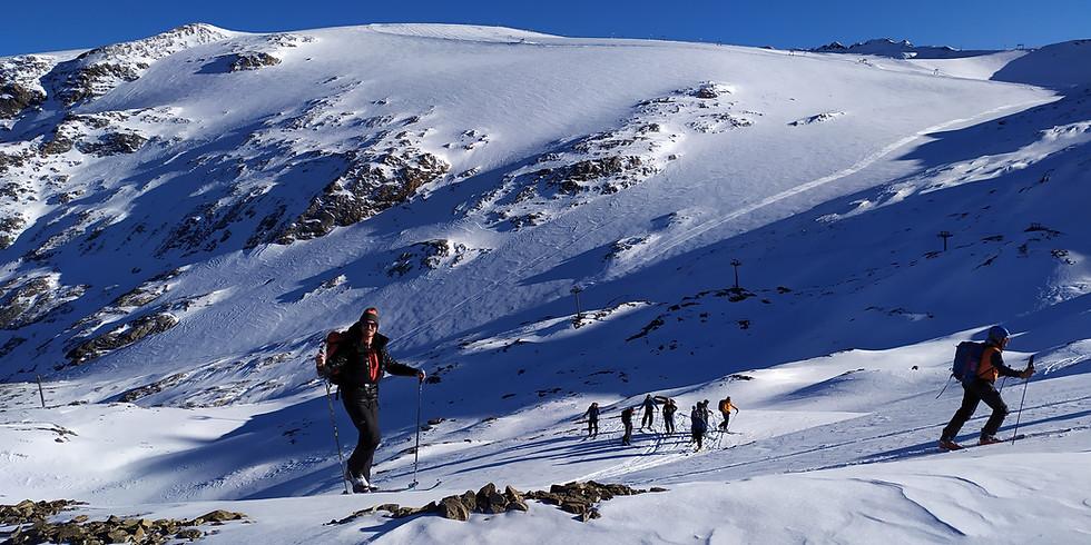 Comprendre la trace en ski de rando - niveau 1 - 1j