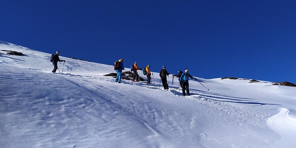 Faire la trace en ski de rando - niveau 2 - 2j