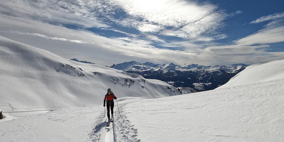 Suivre la trace en ski de rando - niveau 1 - 2j