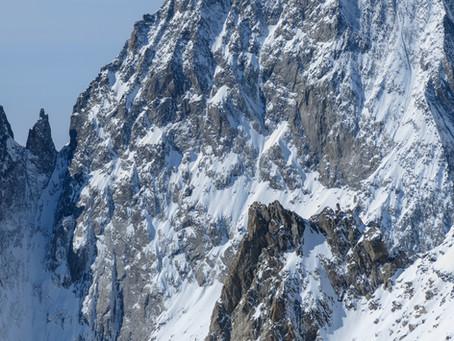 Vols incertains : une nouvelle voie dans le massif du Mont Blanc