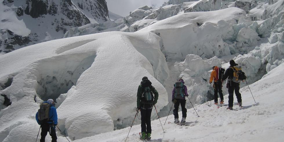 Descente de la vallée blanche - Chamonix