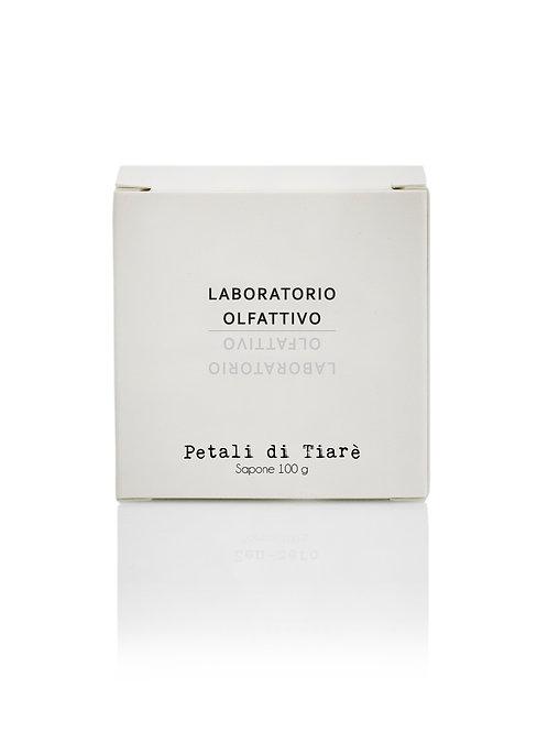 Laboratorio Olfattivo - sapone solido 100g Petali di Tiarè