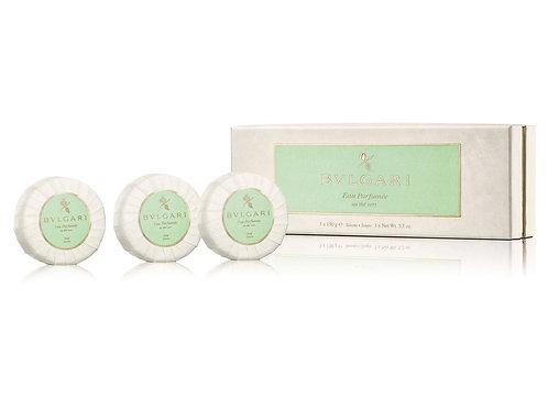 Bvlgari - Eau Parfumée au Thé Vert Set Saponi 3x150g.