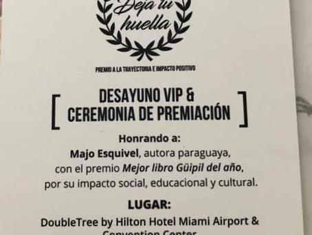 Premiación Majo Esquivel