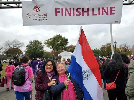 Gran caminata por la prevencion del Cancer de Mama 20 de octubre de 2019