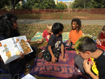 City Kids learns about Hinduism.