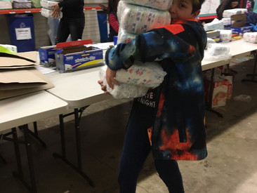 City Kids Service: bundling diapers!