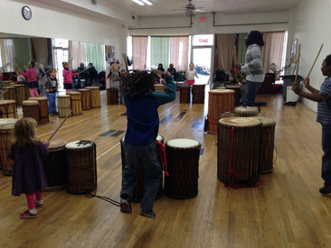 Week 12: Hibernation, Drums in West Africa, African Dance, Capoeira, Mancala, and Drumming Class!