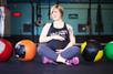 CrossFit maternity session isn't just stunning - it's FIERCE.