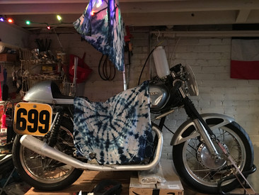 Textiles, Tie Dye, and Motorcycles!