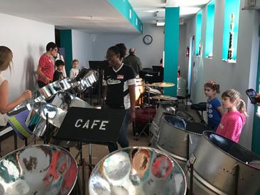 Steel Pan Drumming!