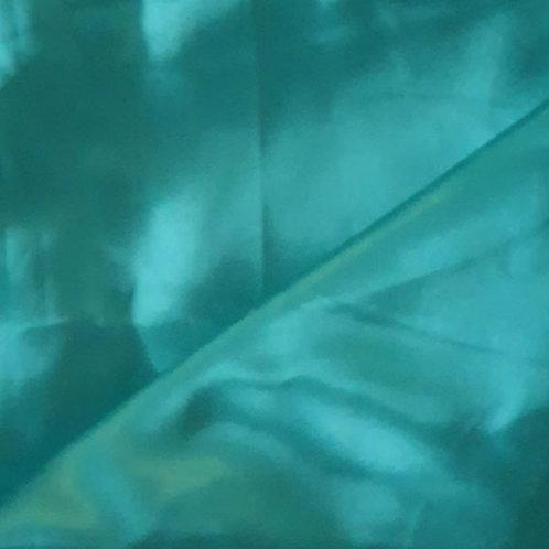 Jade Green Satin Shoe Bag