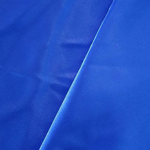 Royal Blue Satin Shoe Bag